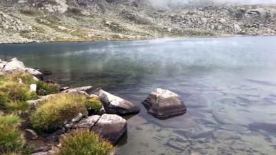 Kaçkar Dağları'na mevsimin ilk karı yağdı - RİZE