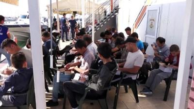 116 düzensiz göçmen yakalandı - ÇANAKKALE