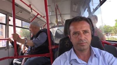 Halk otobüsünde rahatsızlanan yolcuya şoförden ilk müdahale - ERZİNCAN