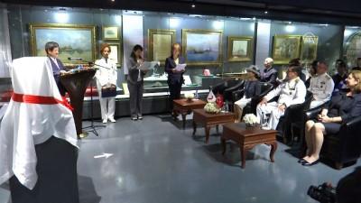 Japon Seiki gemisinin maketi Deniz Müzesi'ne teslim edildi - İSTANBUL