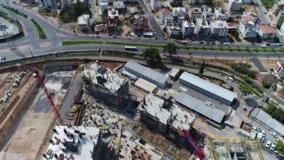 Sur Yapı, Antalya'da 450 bin metrekare imalat tamamlandı