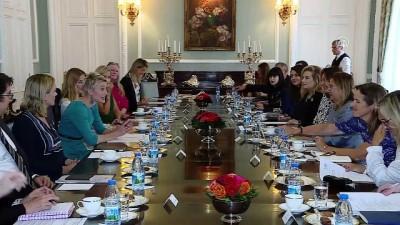Ticaret Bakanı Pekcan, İngiltere'nin önemli kadın girişimcileri ile bir araya geldi - LONDRA