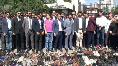 AK Partili gençlerden 12 Eylül protestosu