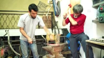 El yapımı bıçakların 4. kuşak ustası - KÜTAHYA