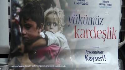 'Halep'te İnsanlık Ölmesin' kampanyası - KAYSERİ