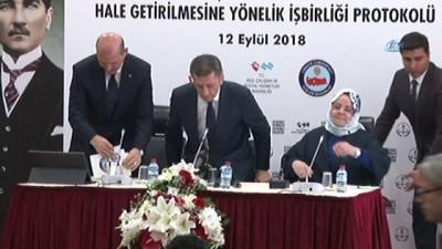 İçişleri Bakanı Süleyman Soylu:'Protokol kapsamında 81 ilde toplam 26 bin 835 güvenlik personeli görev yapacaktır'