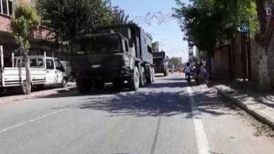 hava saldirisi -  İdlib sınırına topçu bataryası sevkiyatı yapıldı