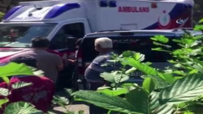 Kazayı duyan köylüler kaza yerine akın etti ... Araç şarampole yuvarlandı: 5 ölü, 8 yaralı