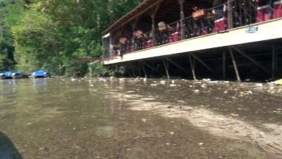 Sera Gölü'nün temizliği için tesis işletmecileri devreye girdi