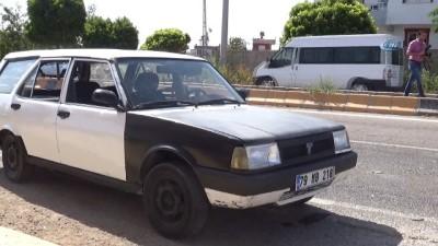 Suriyeli sürücünün kullandığı otomobil zırhlı araca çarptı: 1'i polis 2 yaralı
