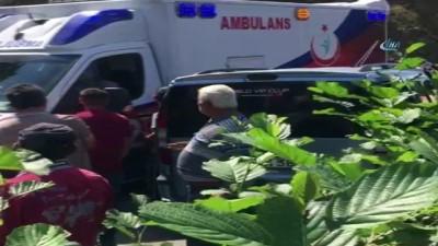 Sürücüsünün direksiyon hakimiyetini kaybettiği araç şarampole yuvarlandı: 5 ölü, 8 yaralı