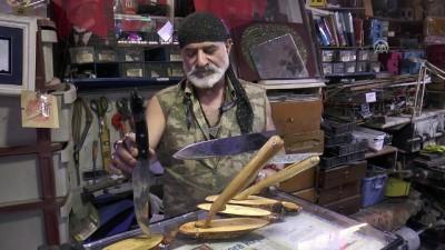 TBMM Başkanı Yıldırım için özel Sivas bıçağı yaptı - SİVAS