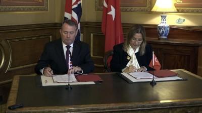 - Türkiye-İngiltere Ticari Ortaklık Mutabakat Zaptı İmzalandı