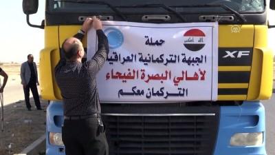 Türkmenlerden Basra'ya 108 ton içme suyu yardımı - KERKÜK