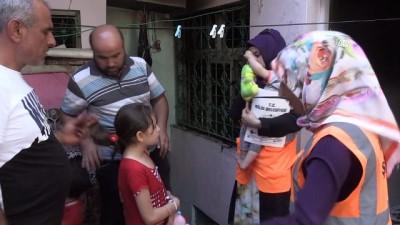 Yangında kızlarını kaybeden Suriyeli aileye belediye el uzattı - KİLİS