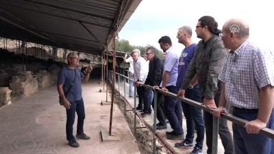 Antandros Antik Kenti'ne teknik gezi düzenlendi - BALIKESİR