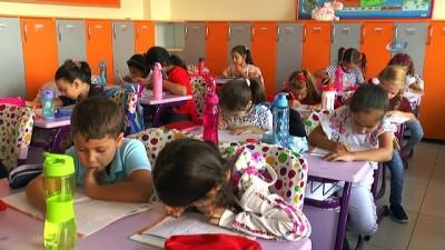 Bu okulda öğrenciler oyun oynayarak okula alışıyorlar