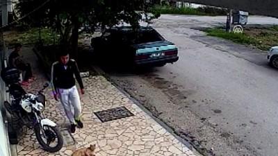 Çalıntı motosikletle kaza yapan şüpheliler yakalandı - SAKARYA