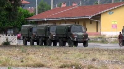 Hatay sınırına askeri sevkiyat devam ediyor