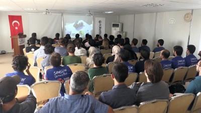 lise ogrencisi - Havacılık, Uzay ve Teknoloji Festivali - AKSARAY