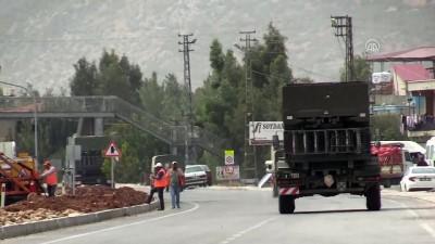 roketatarlar - İdlib sınırına askeri sevkiyat sürüyor (2) - HATAY