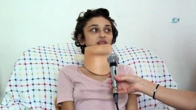 Kanser hastası Ece yaşamak istiyor