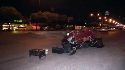 Kaza yapan otomobil elektrikli bisiklete çarptı: 1 yaralı - ADANA