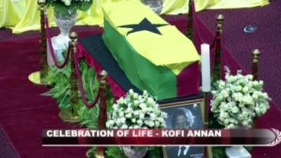 - Kofi Annan Son Yolculuğuna Uğurlanıyor - Devlet Töreninin Ardından Defnedilecek