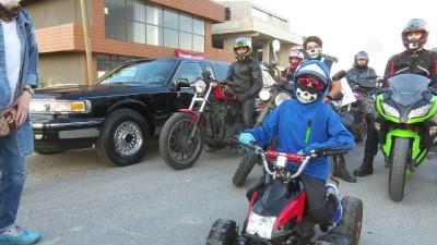 Motosiklet tutkunlarından lösemiyi yenen Yusuf Ege'ye sürpriz - ANKARA