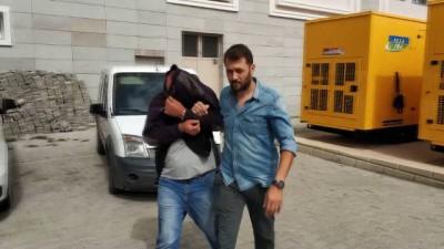 Samsun'da bir şahıs 5 kilo esrarla yakalandı