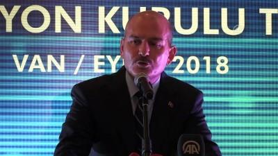 Soylu: 'Ülkemizde yakalanan uyuşturucunun yüzde 47'si Marmara Bölgesi'nde' - VAN