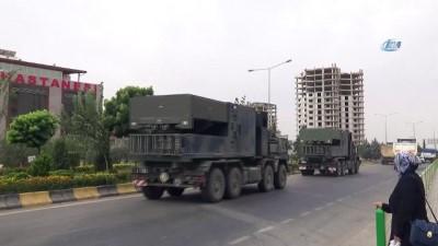 Suriye'ye mühimmat ile zırhlı araç sevk edildi