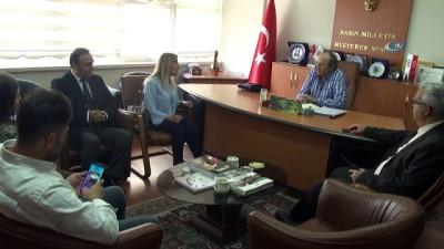 """Türkiye'nin ilk ve tek görme engelli diplomatı Ertürk:""""Kurulumuzdan karar çıkarsa Leyla davasına müdahil olmak isteriz"""""""