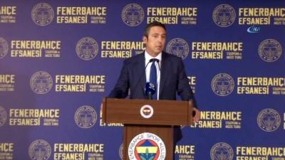 """Ali Koç: """"Önümüzdeki günlerde sponsorluk anlaşmalarını tek tek paylaşacağız"""""""