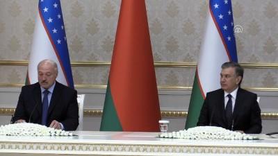 Belarus Cumhurbaşkanı Lukaşenko 24 yıl sonra Özbekistan'da - TAŞKENT