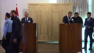 Çavuşoğlu - Kureyşi ortak basın toplantısı (1) - İSLAMABAD
