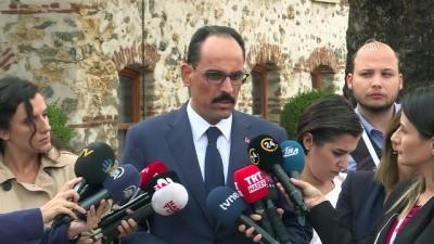 Cumhurbaşkanlığı Sözcüsü Kalın: '(İdlib) Herkesin ortak kanaati çözümün askeri değil siyasi olması gerektiği' - İSTANBUL