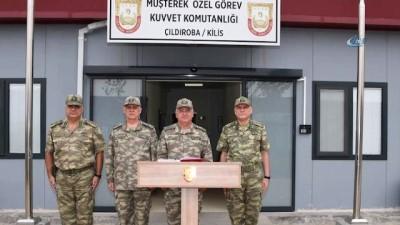 Genelkurmay Başkanı Orgeneral Güler, Gaziantep, Kilis ve Hatay'da incelemelerde bulundu