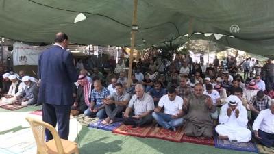 isgal - Han el-Ahmer'deki yıkım kararına tepkiler - KUDÜS