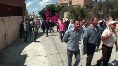 İsrail güçlerinin Batı Şeria'daki gösterilere müdahalesinde 3 kişi yaralandı - NABLUS