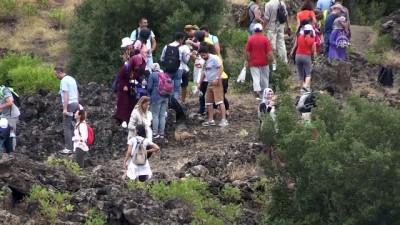 Kula Volkanik Jeoparkı eğitim sahası oldu - MANİSA