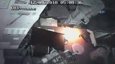 Maskeli hırsızlar bakkaldan 8 bin liralık soygun yaptı
