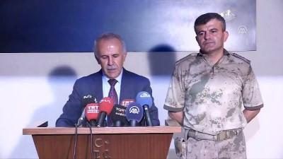 MİT tarafından Afrin'de yakalanıp Türkiye'ye getirilen 9 YPG/PKK'lı terörist - Vali Ata'nın açıklaması - HATAY