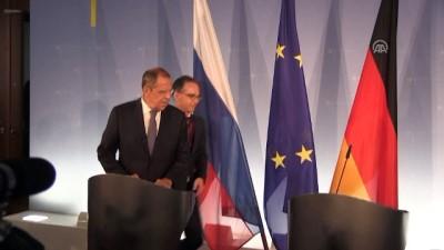Rusya Dışişleri Bakanı Lavrov: 'Türk partnerlerimizle İdlib'deki durumu çözmeye çalışıyoruz' - BERLİN