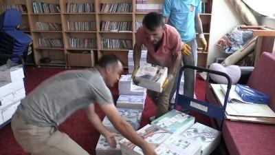 Ücretsiz ders kitapları okullara dağıtıldı - YOZGAT