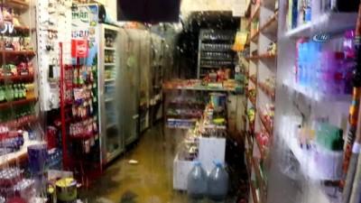 Yalova sele teslim oldu, ev ve iş yerleri sular altında kaldı
