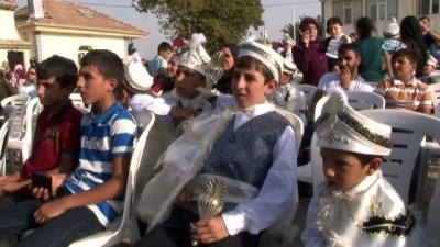 Akçakiraz'da 104 çocuk için sünnet şöleni