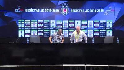Beşiktaş - Evkur Yeni Malatyaspor maçının ardından - Şenol Güneş (1) - İSTANBUL
