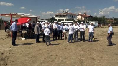 Bulgar yetkililer longoz ormanlarında çöp topladı - KIRKLARELİ