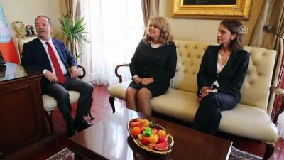 Bulgaristan Cumhurbaşkanı Yardımcısı İliana Yotova Edirne'de